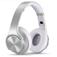 Sodo On-Ear Bluetooth Headset/Speaker Silver