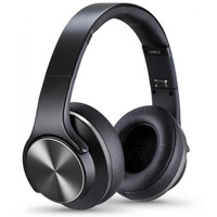 Sodo On-Ear Bluetooth Headset/Speaker Black