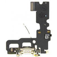 Quality Parts Replacement Charge/Data Connector incl. Flex Cable for Apple iPhone 7 Grey OEM