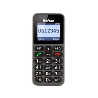 Profoon PM-778 Comfort Big Button GSM Black Diverse hardware