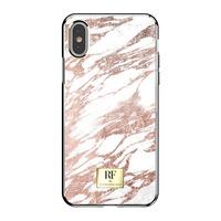 Richmond & Finch RF Series TPU Case Apple iPhone X/Xs Rose Gold Marble